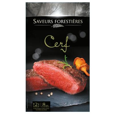 Pavé de Cerf, SAVEURS FORESTIERES, 2 pièces, 240g