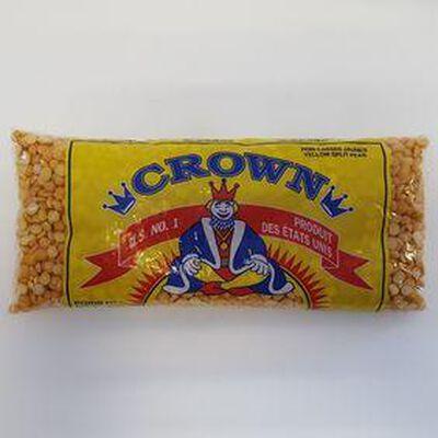 Crown pois cassé jaune 500g