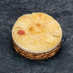 Bavarois poire/caramel décongelé, 4 parts, 430g