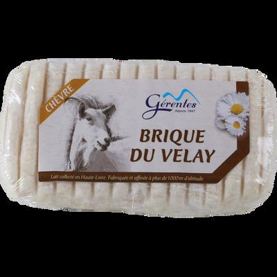 Brique du Velay au lait pasteurisé de chèvre 25%mg 150g