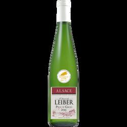 Vin blanc d'Alsace Pinot Gris  EDOUARD LEIBER, médaille d'or de Paris,75cl