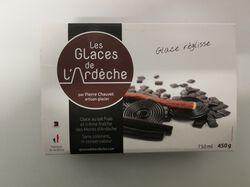* Glace réglisse 450g ,Les Glaces de l'Ardèche