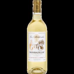 Vin blanc AOP Monbazillac moelleux Les MEDIEVALES U, 75cl