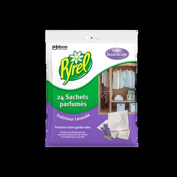 Pyrel Anti-mites Parfum Lavande Pyrel, Sachets De 24