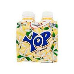 Yaourts à boire parfum vanille YOP, 4x250g