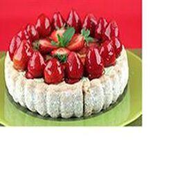 Charlotte aux fraises, 6/8 parts, 865g