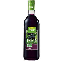 Sirop au cassis bio FRUISS BIO, bouteille de 500ml