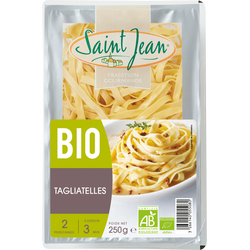 Tagliatelles bio SAINT JEAN, 250g