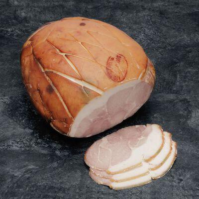 Jambon cuit au torchon à l'ancienne avec couenne