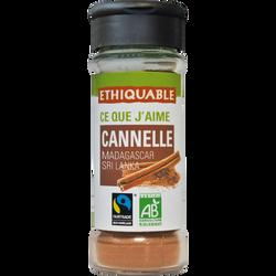 Cannelle Sri Lanka/Madagascar bio ETHIQUABLE, 40g