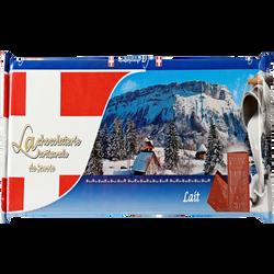Tablette de chocolat au lait CHOCOLATERIE ARTISANALE, 300g