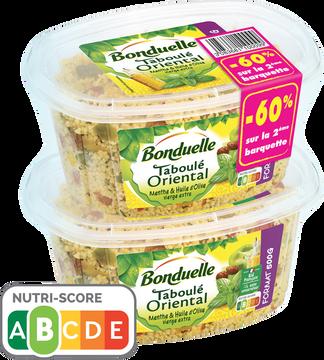 Bonduelle Taboulé Oriental Menthe Et Huile D'olive Extra Vierge Bonduelle, 2x500g, 2eme À -60%
