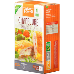 Chapelure sans gluten BIO MON FOURNIL, paquet de 200g