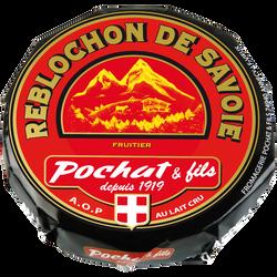 Reblochon AOP de Savoie fruitier au lait cru POCHAT, 27%mg, 450g