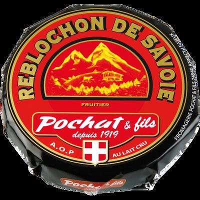 Reblochon AOP de Savoie fruitier au lait cru POCHAT, 27% de MG, 450g