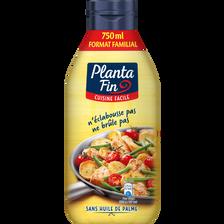 Planta fin Liquide Végétal De Cuisson, 82% De Mg, Cuisine Facile ,750ml