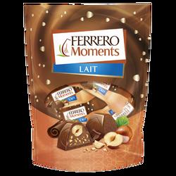 Moments T14 lait FERRERO, sachet de 14 pièces de 124g