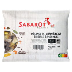 Mélange de champignons bio SABAROT, 300g
