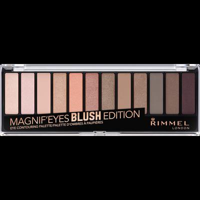 Palette 12 teintes ombres à paupières magnif'eyes 002 blush édition RIMMEL