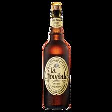 Bière blonde à l'ancienne LA GOUDALE, 7,2°, 75cl