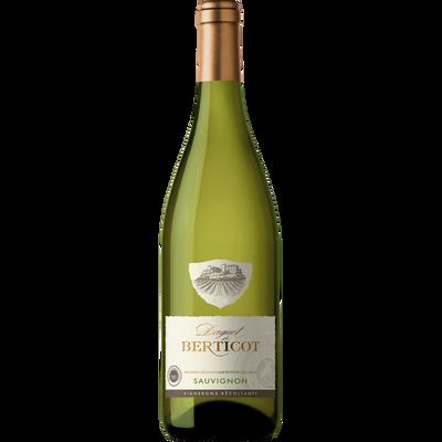 Vin blanc sec IGP de l'Atlantique Sauvignon Daguet de BERTICOT, bouteille de 75cl