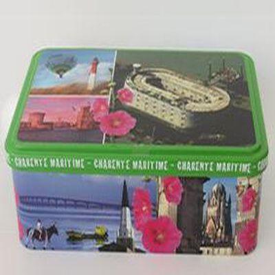 12 galettes, boite déco Charente Maritime, 240 gr, Goulebenéze