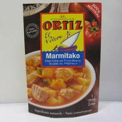 Marmitako de thon blanc ORTIZ,300g