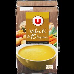 Velouté aux 10 légumes variés U, 1l