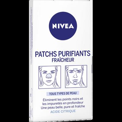 Patchs purifiants pour le front, le nez et le menton NIVEA VISAGE, x6
