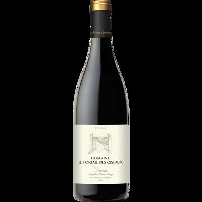 """Vin rouge AOP Ventoux """"Domaine le portail des oiseaux"""""""