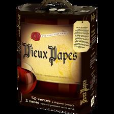 Vin Espagne rouge VIEUX PAPES, cubis de 5l