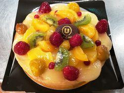 tarte fruits 4 pers  fabriquée sur place