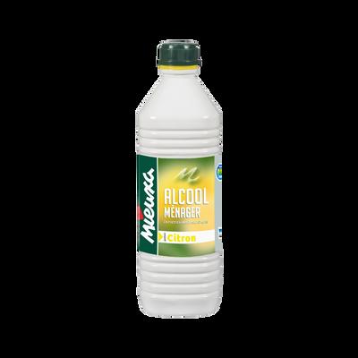 Alcool ménager, parfum citron, 1L