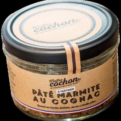 Pâté marmite les p'tites marmites MAITRE COCHON, verrine de 180g