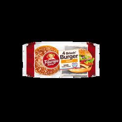 Brioch' burger sésame LA FOURNEE DOREE, x4 soit 250g