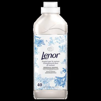 Assouplissant concentré inspired by nature minéraux marin LENOR, 40 doses de 1l
