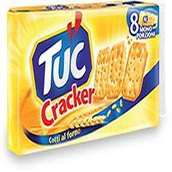 Biscuit cracker TUC, paquet de 8 étuis de 31,3g, 250g