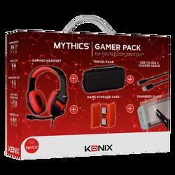 Pack gamer SWITCH KONIX 61881109644