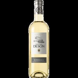 Vin blanc AOC moelleux Bordeaux Château deson, 75cl