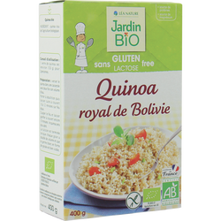 Quinoa royal de Bolovie bio JARDIN BIO 400g