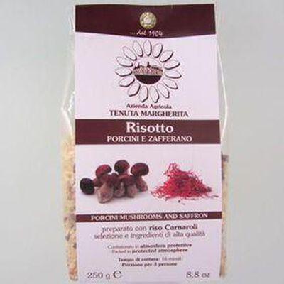 Risotto aux cèpes et safran RISO MARGHERITA,250g