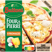 Buitoni Four À Pierre Pizza 4 Fromages Buitoni, 330g