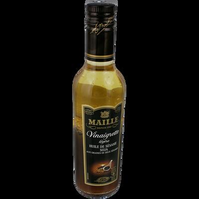 Vinaigrette à l'huile de sésame et au soja MAILLE, 36cl