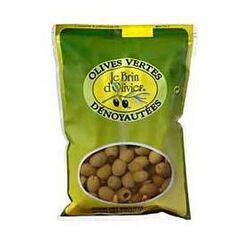 olives vertes dénoyautées 400g le brin d'olivier