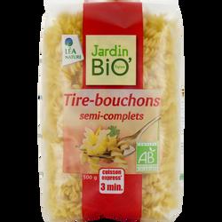 Fusilli cuisson  3 minutes JARDIN BIO, sachet de 500g