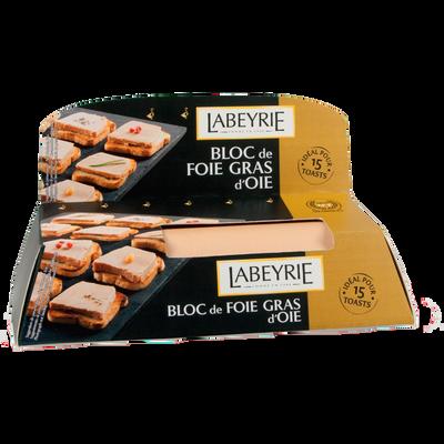 Bloc foie gras d'oie LABEYRIE, 120g