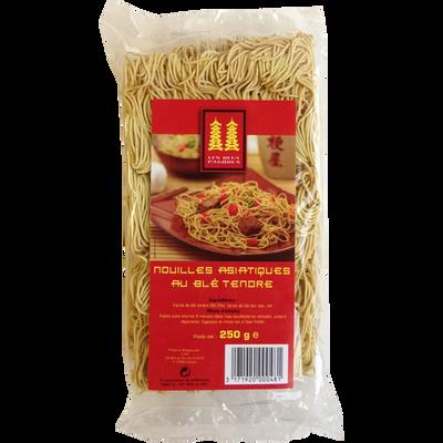 Pâtes nouilles jaunes asiatique LES DEUX PAGODES, 250g