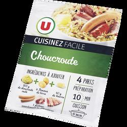 Choucroute cuisinez facile U, 40g