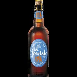 Bière blonde LA GOUDALE 7,2° bouteille de 75cl