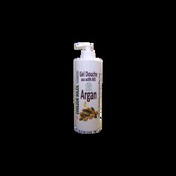Gel douche à l'argan bio apaisant et purifiant COULEUR SOLEIL, 500ml